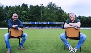 Ralph Blom en Felix Aerts delen eindverantwoordelijkheid bij FC Castricum: Twee kapiteins op een schip, waarom zou het niet kunnen?