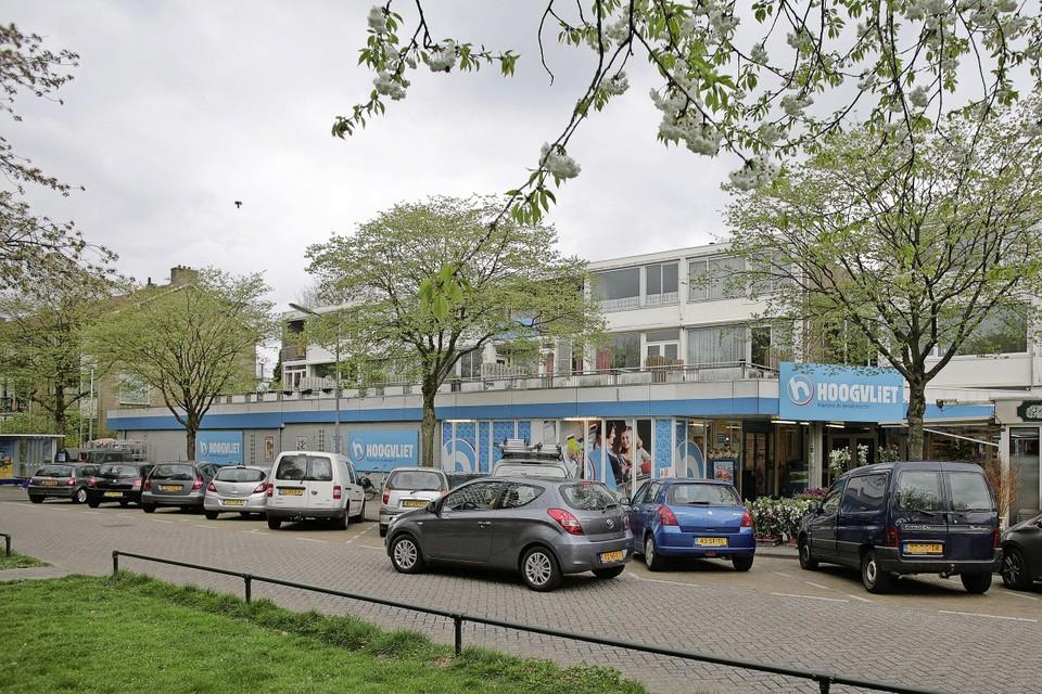 De Hoogvliet-supermarkt aan de Admiraal de Ruijterlaan.