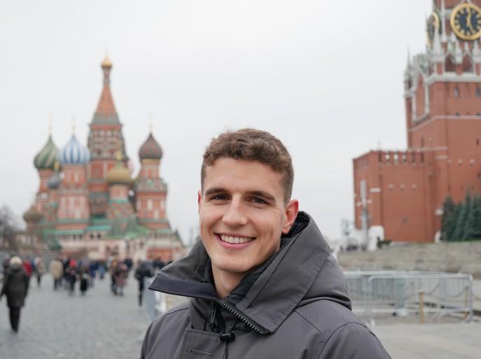 Guus Til in Moskou: 'Spijt? Nee, geen spijt. Maar ik ben wel jaloers' [video]