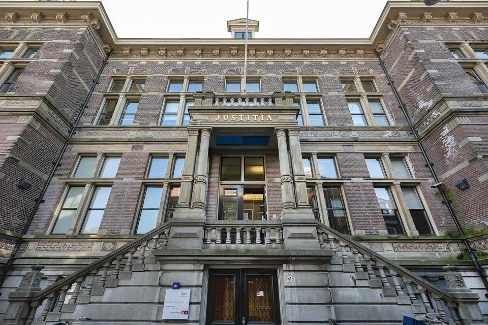 De rechtbank van Haarlem.