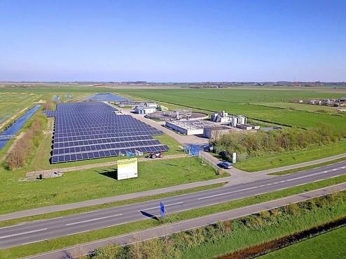 Groen licht voor zonnepanelen bij rioolzuivering Ursem