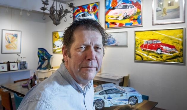 Rogier Jonk al 25 jaar 'in de kunst', maar dan wel op zijn eigen wijze: 'Een galerie moet een beleving zijn'