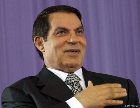 Tunesische ex-president Ben Ali begraven