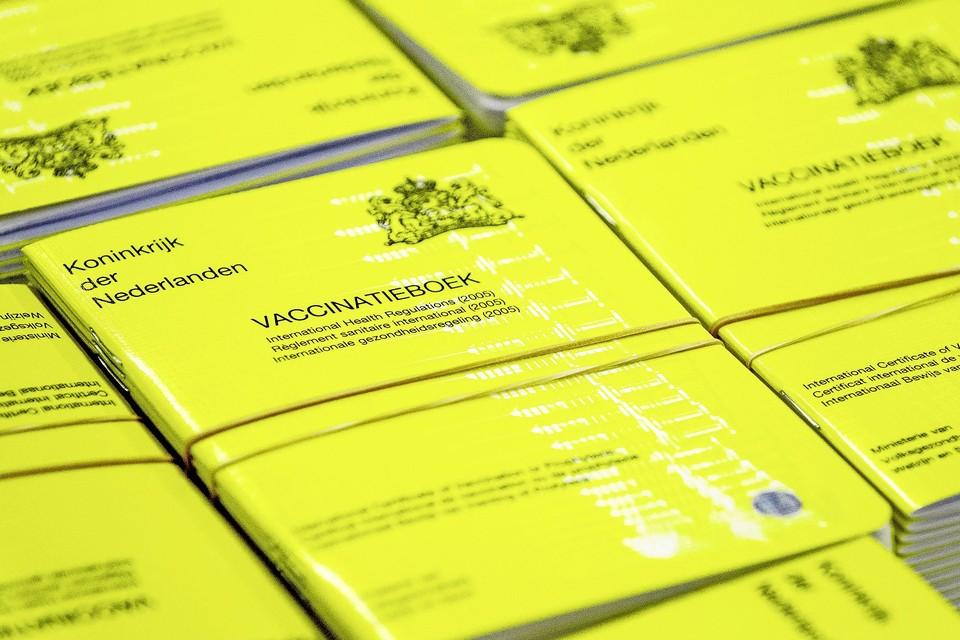 Het Gele Boekje waar de stempels in verzameld worden.