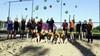 Beach handbal wordt het helemaal en Kleine Sluis is er klaar voor. 44 nieuwe strandballen. Met dank aan de Lions Club