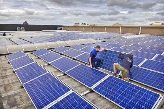 Zonne-energie gaat hard in Waarland: project met 288 zonnepanelen is vol, plannen voor nog 600 panelen