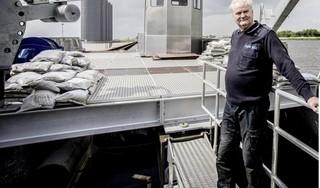Natuuronderzoekers zien geen beletsel voor van start gaan Slow Mill bij Texel. De molen moet de kracht van golfslag omzetten in elektriciteit