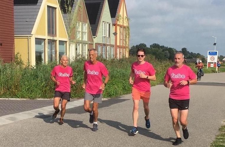 Een deel van de Forbo Runners.