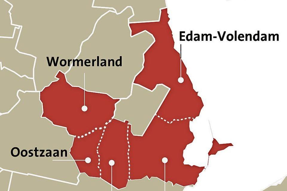 Wormerland bespreekt zeven toekomstscenario's, waaronder een 'groene federatie' met Oostzaan, Landsmeer, Waterland en Edam-Volendam