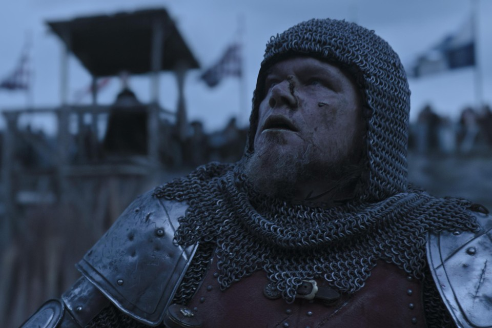 Matt Damon in 'The last duel'.
