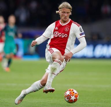 Dolberg staat voor vertrek bij Ajax