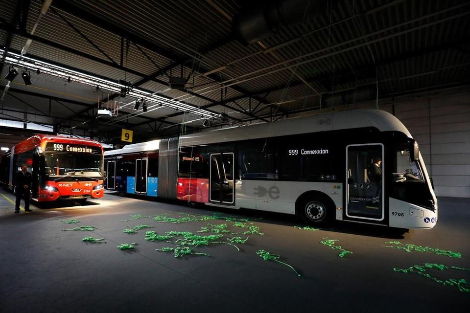 Elektrische bussen van VDL krijgen steeds meer concurrentie vanuit China.