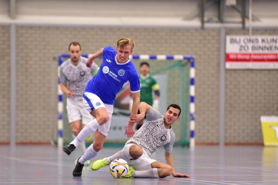 Stefan Dol zorgde met zijn treffer tegen Texel'94 voor een opleving bij FC Marlène.
