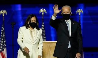 Komend president Biden en Harris geven eerste interview samen