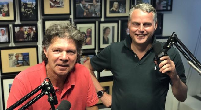 Een hele dag meedoen met online radio en potcasts in de Dutch Media Week