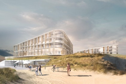 Initiatiefnemers nieuw hotel in Bergen gaan op ingeslagen route door