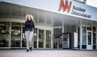 IC-verpleegkundige Marike Jagel is moe maar gaat er weer voor als de tweede coronagolf zich aandient