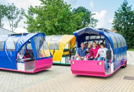 Mindervalide kan mee met historische stadswandeling; in elektrische wagen langs alle plekken van plezier