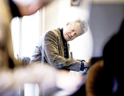 Trompettist Jarmo Hoogendijk kan niet meer toeteren, maar vindt geluk in het onderwijs: Al met al een gezegend mens