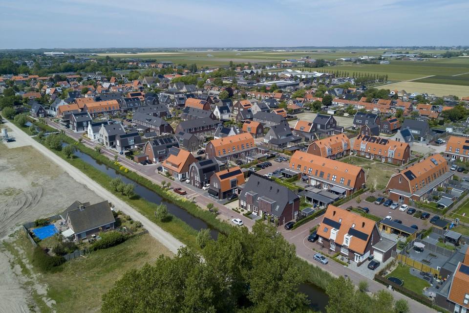 De nieuwbouw in Julianadorp Oost.