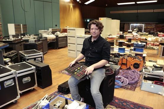 Helemaal uit Griekenland voor Garage Sale bij Wisseloord Studios in Hilversum