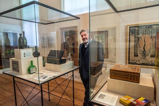 Directeur Moncef Beekhof van het Purmerends Museum komt tijd tekort