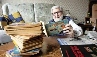 Geen dag gaat voorbij zonder Kapitein Rob: Eén van de eerste dingen die Wim (84) de laatste maanden deed als hij 's ochtends vroeg de brievenbus hoorde, is de krant openslaan naar de strippagina