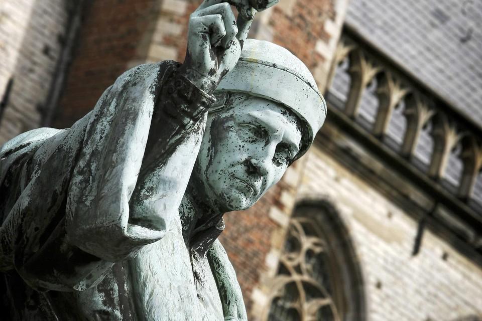 Standbeeld 'Loutje' op de Grote Markt.