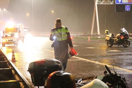 Acht jaar cel voor dood injagen van motorrijder en vriendin op A10 bij Oostzaan