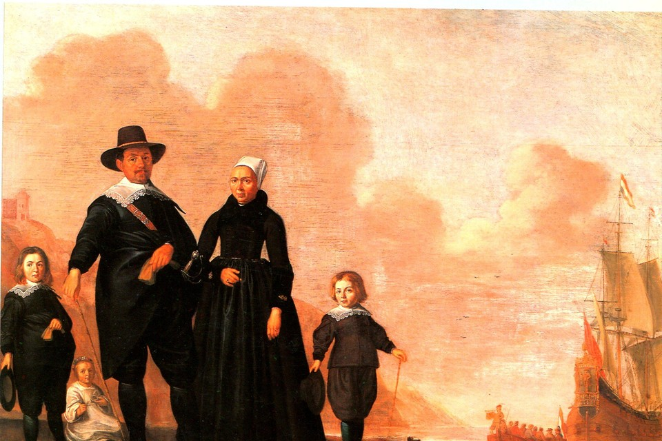 Portret van een familie: een trots redersgezin uit Enkhuizen.