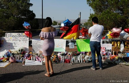 Walmart-schutter El Paso aangeklaagd in Texas