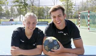 Handbalstel Zoë Sprengers en Noah van Wieringen uit elkaar om volgende stap te maken: 'Kwestie van goede afspraken maken'