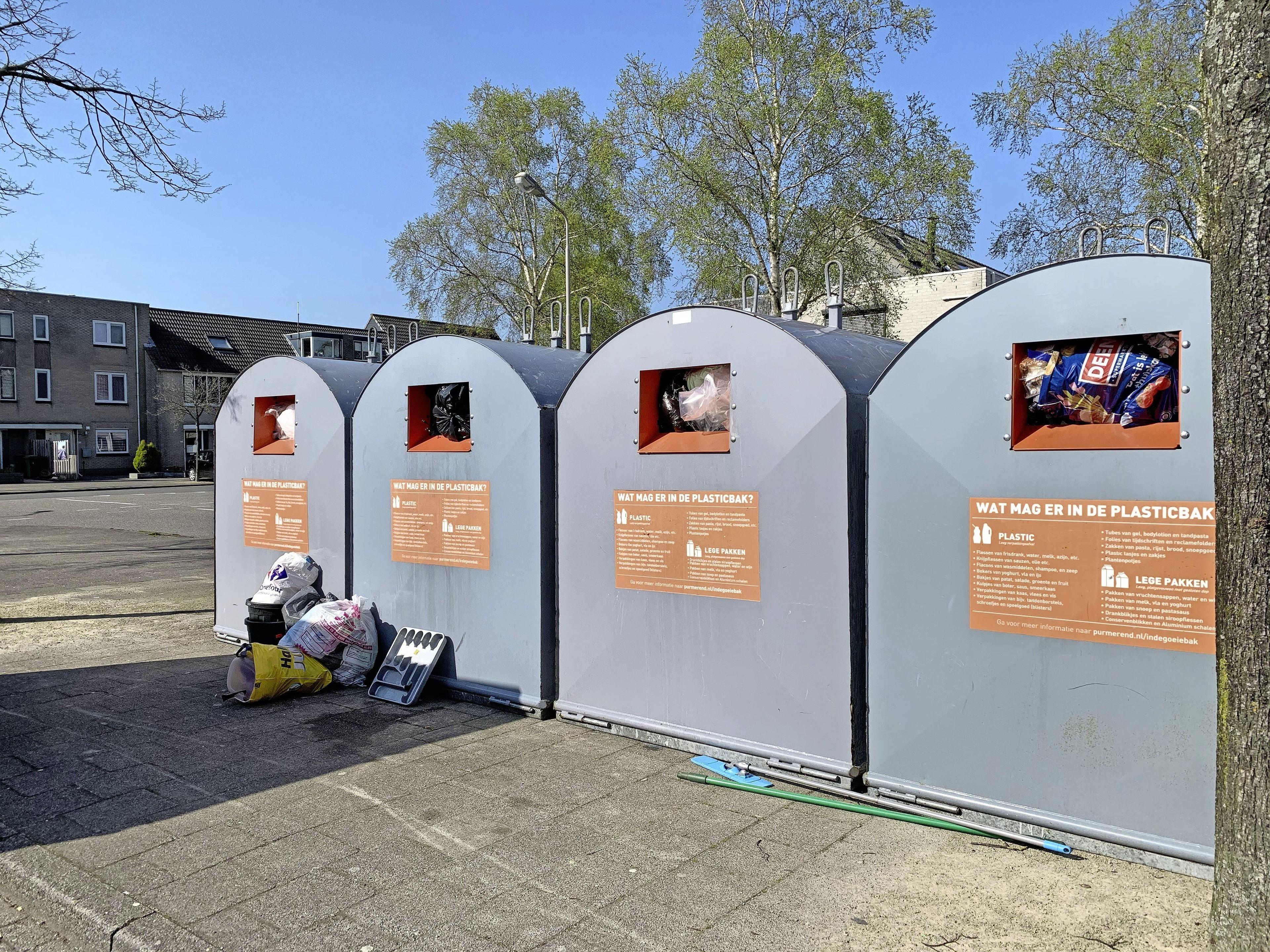 Afvalenquête in Purmerend: ieder eigen plasticbak, niet meer zeulen naar centrale containers - Noord