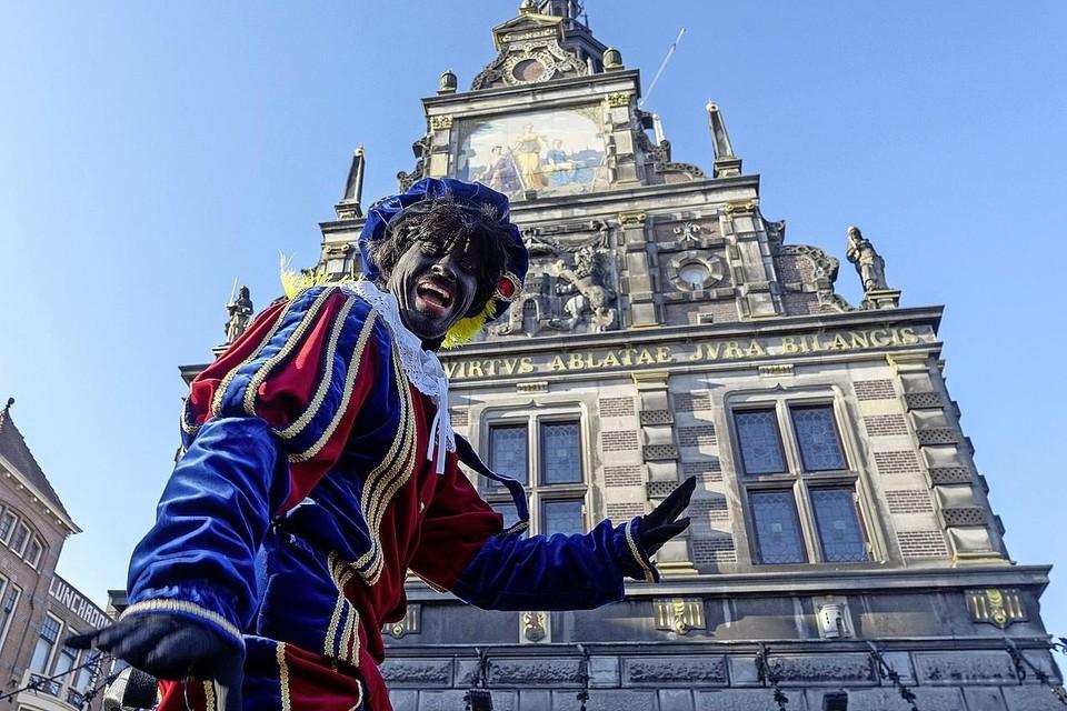 De traditionele Alkmaarse Zwarte Piet.