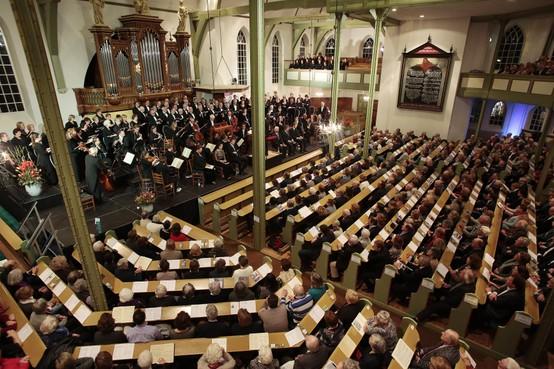 Start kaartverkoop Matthäus-Passion Huizen: het motto van deze uitvoering door Huizer zangers is 'Passie Verbindt'