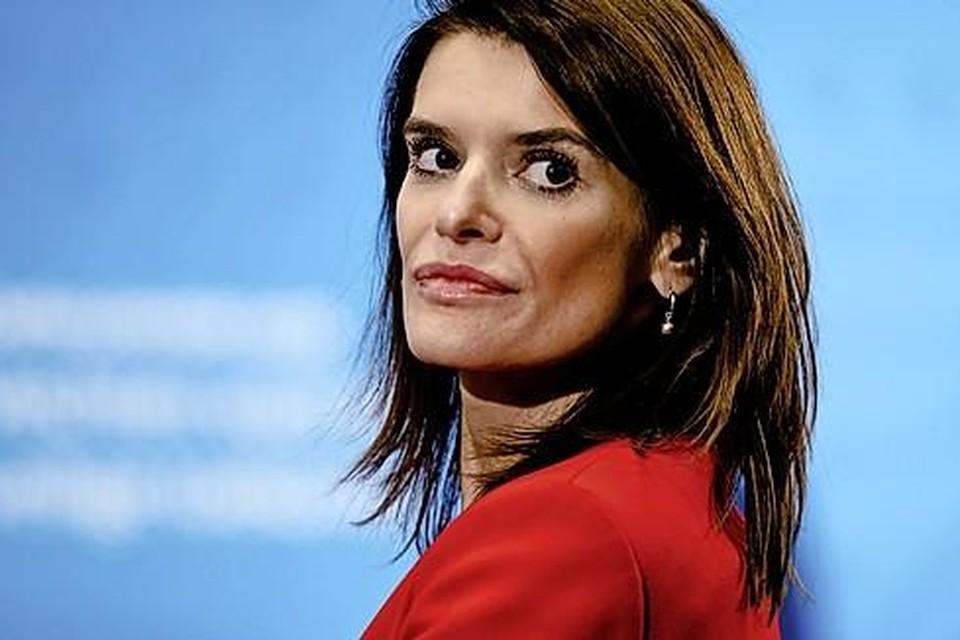 Staatssecretaris Barbara Visser van Defensie (VVD).