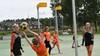 Oranje-internationals in Beverwijk op bezoek voor clinic en 'meet en greet' bij korfbalclub HBC: 'Meer power in de training'