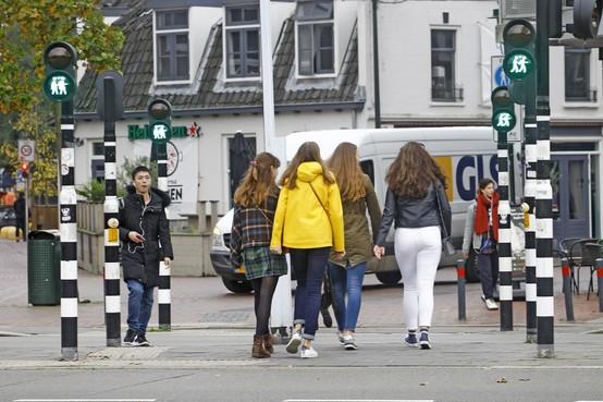Groen (verkeers)licht voor Hilversumse LHBTI'ers: hand in hand de Schapenkamp over