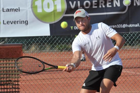 Onverwacht goed weer zorgt voor 'geweldige week' tijdens tennistoernooi bij De Spatter