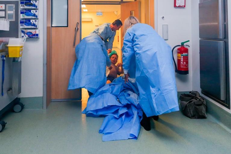 Alarm! Brand in de operatiekamer van het Dijklander Ziekenhuis [video]