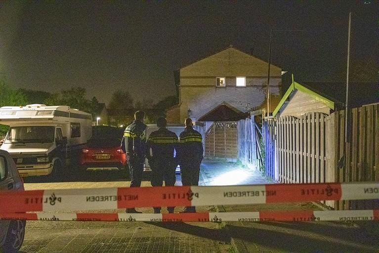 Woning beschoten in Heemskerk: In de schutting zitten kogelgaten
