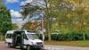 Buurtbus door Overveen, Bloemendaal en Santpoort gaat weer rijden: 'Als chauffeurs hebben wij onze reizigers ook gemist'