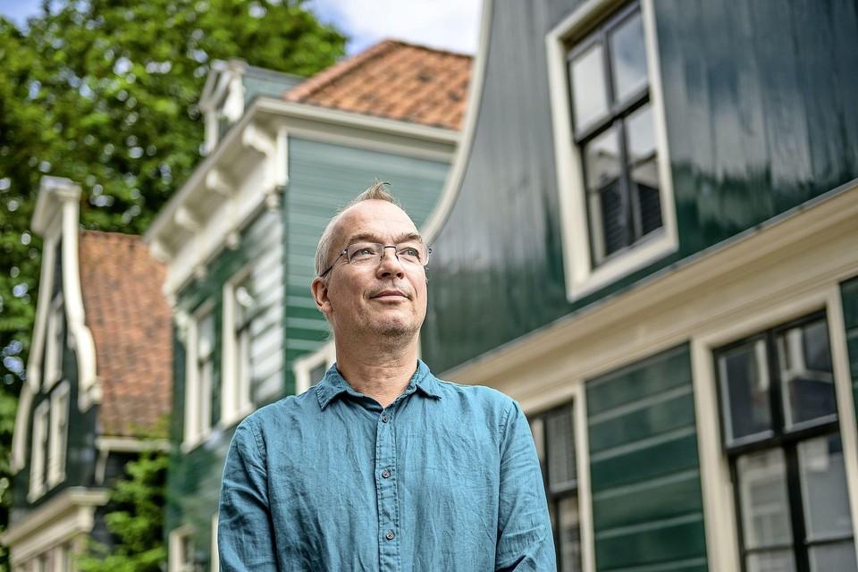 Paul Kramer houdt van de Zaanse houtbouw.