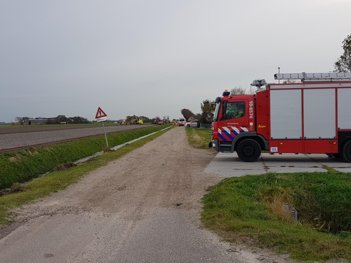 Man omgekomen bij landbouwongeval Callantsoog