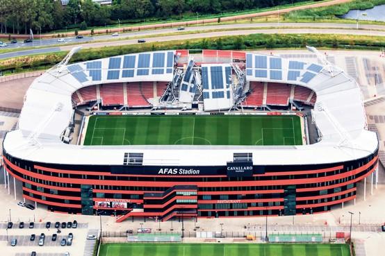 'Eerste scheur in constructie van AZ-stadion waarschijnlijk al in januari 2007', meldt eindrapport van onderzoekers