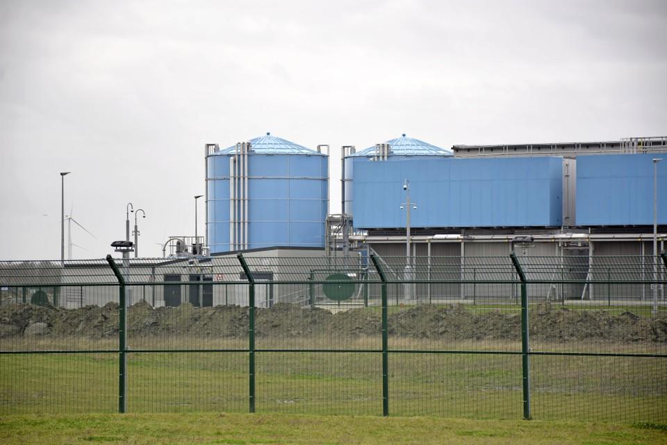 Onderdeel van het datacenter van Google in Middenmeer.