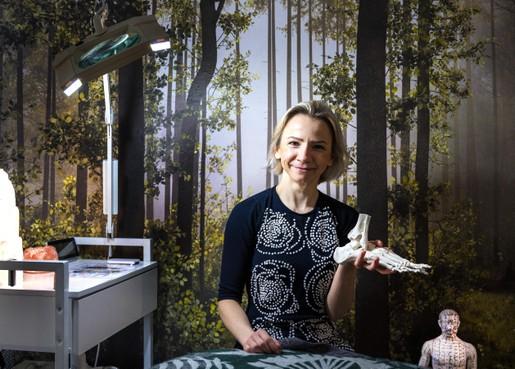 Haarlemse voetreflextherapeut Kate Maslowska krijgt geen noodhulp