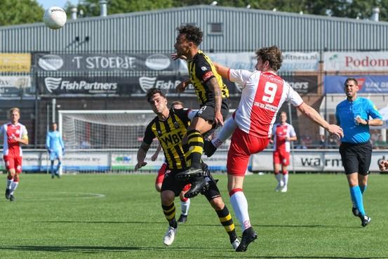 Tweede divisie: 'Even' de titel in de tweede divisie ophalen is er niet bij voor IJsselmeervogels