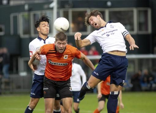 Koninklijke HFC raakt koppositie kwijt na gelijkspel tegen Katwijk