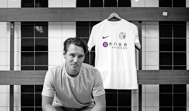 Jouke Huitema ook in de kelder van het zaterdagvoetbal bij Always Forward nog even ambitieus: 'Ik geloof in dit project en wil er graag deel van uitmaken'
